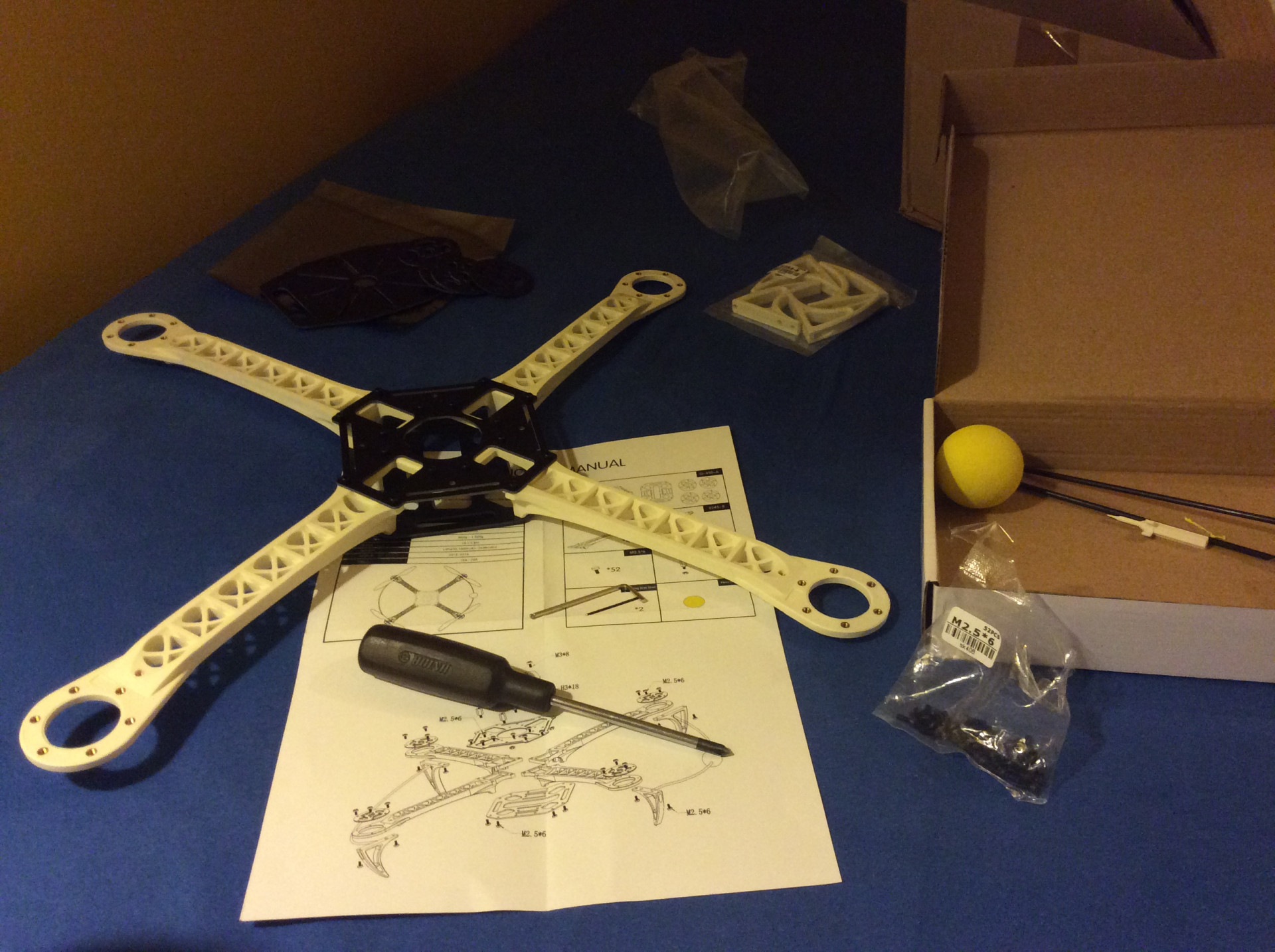 Building my own quadcopter drone – part 1